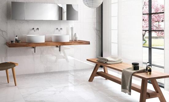tile stone bathroom